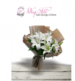 Hand Bouquet Lilly