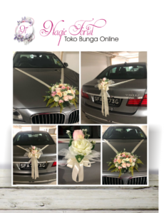 dekorasi mobil pengantin