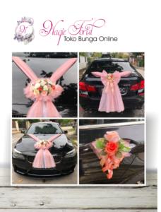 toko bunga hias mobil pengantin