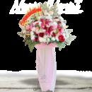 standing flower congratulations