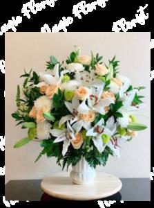 bunga meja lilly