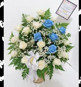 bunga meja ucapan