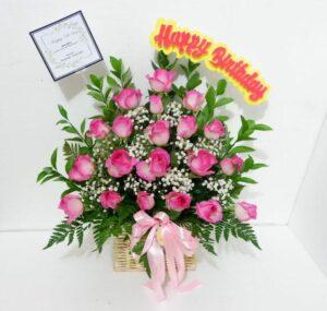 Rangkaian Bunga Meja Ulang Tahun Tangerang