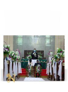Dekorasi Altar Gereja