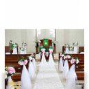 Dekorasi pemberkatan nikah di Gereja