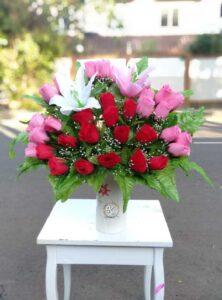 bunga meja artificial