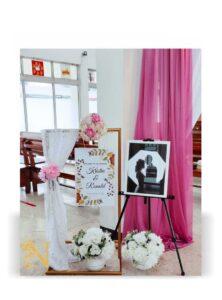 dekorasi pernikahan gereja - 01