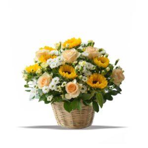 bouquet bunga matahari