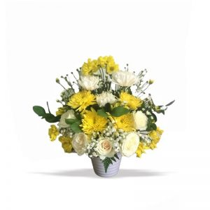 bunga meja minimalis