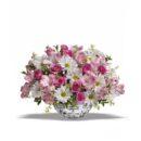 hiasan bunga meja