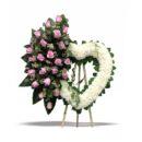 krans bunga love