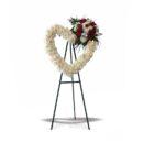 krans bunga pernikahan